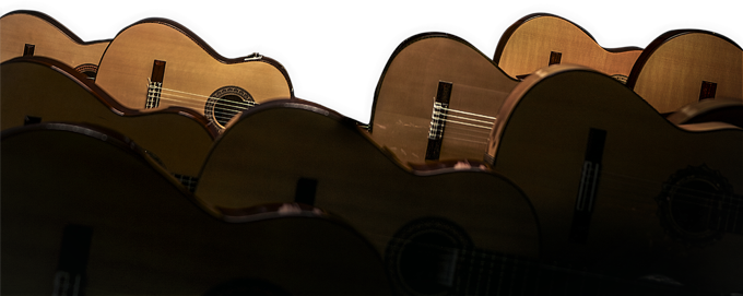 mer de guitares