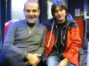 Juan Carmona y Domingo Patrício en los estudios de RFI Foto: Jordi Batallé/RFI