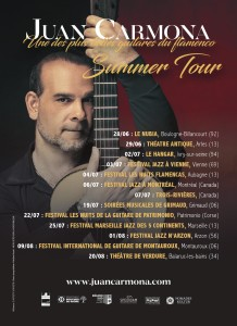 Flyer JC Summer Tour